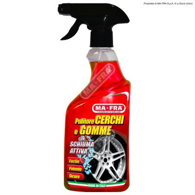 čistič ráfků a pneumatik -cerchi e gomme